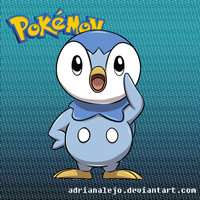 Piplup by adrianalejo