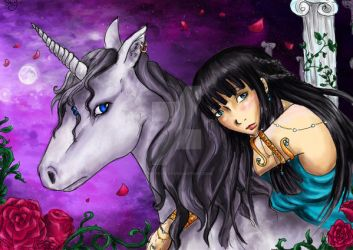 Aaricia Licorne by Chtite-Sevy