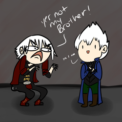 Dante and Vergil by luvbourn