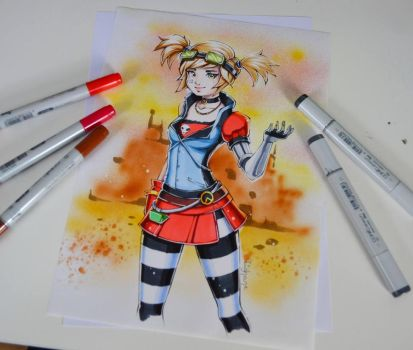 Gaige from Borderlands 2 by Lighane
