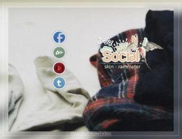 Social web - Rainmeter by coral-m