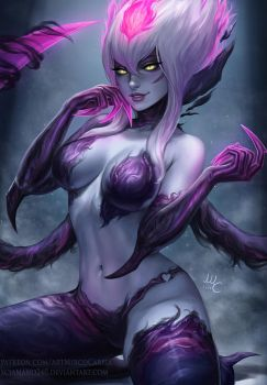 Evelynn - League of Legends (2v) by Sciamano240