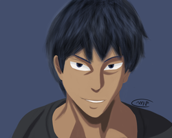 Daiki Aomine by Flamy1