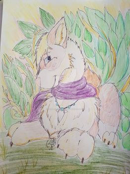 Nidar in nature - Contest Art by Tora-chanCyro