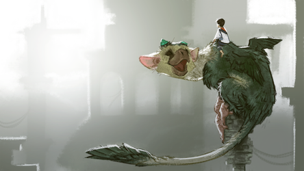The Last Guardian Wallpaper by Xx-ArtyAmy-xX