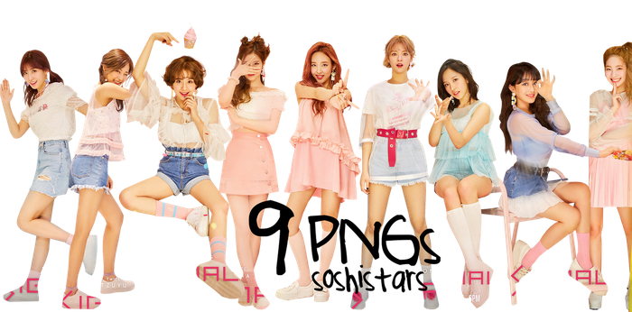 TWICE PNG Pack #3 {Signal 2017} HD by soshistars