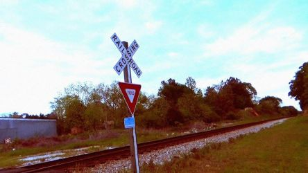 Railroad Crossing by Prof-Mrs-TheDoctor
