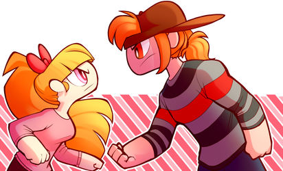 REDS - Stare Down by JKSketchy