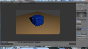 3D dice by jajafilm