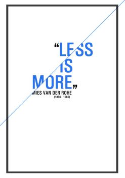less is more by joaotxr