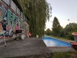 Abandoned swimming pool by KrwawaMerrry