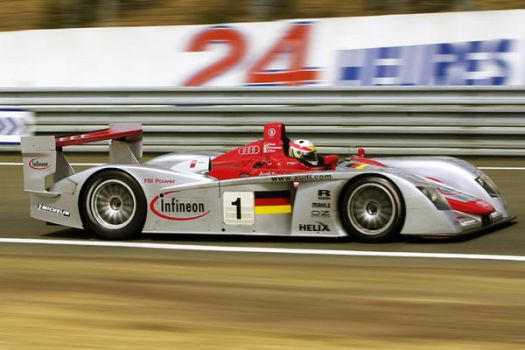 Audi at Le Mans 24 hours by DaveAyerstDavies
