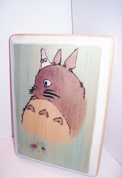 Mini Totoro +Commission+ by EmmersDrawberry