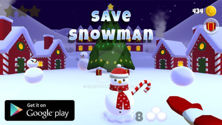 Save Snowman ! (game androoid/ios) by emanon01