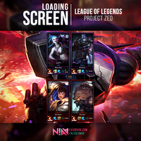 Project Zed - Loading Screen / League of Legends by AliceeMad