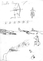 Doodle Page 7:  Action Poses by jo-shadow