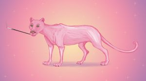 The Pink Panther by Louisetheanimator
