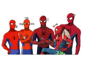 spider-man's by mulecans