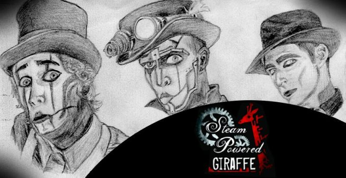 Steam Powered Giraffe by carpenocturne