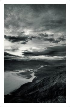 Dante's View, Death Valley by myownself