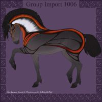 1006 Group Horse Import by Cloudrunner64