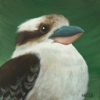 And another kookaburra... by tuftedpuffin