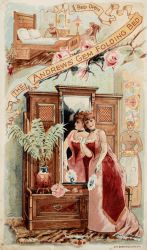 Victorian Advertising - A Gem in the Bedroom by Yesterdays-Paper