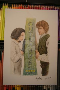 Claire and Jamie Season 3 by lilangie19