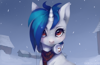 Snowing again by Imalou