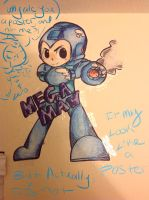 Megaman poster by RichHoboM3