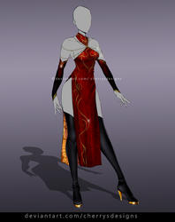 (closed) Auction Adopt - Outfit 852 by CherrysDesigns