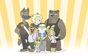 A little family get together by Tomthebaker