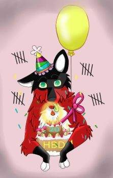 happy birthday to...me.... by clearwolf