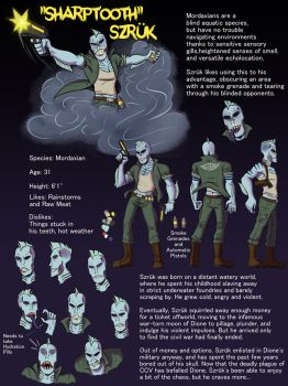 Sharptooth Szruk Ref Page by Harry-Monster