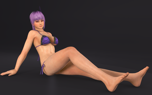 Ayane hot getaway RENDER-11 by Dizzy-XD