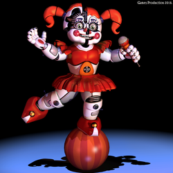 Circus Baby -  Poster (3Ds Max) by GamesProduction
