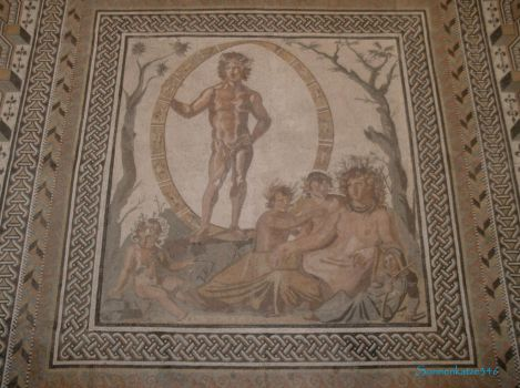 Glyptothek munich 9: Mosaic of the seasons by Sonnenkatze346