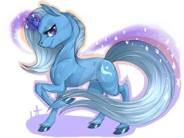 The great and powerfull Trixie by SuicidalPichew