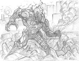 Evil within pencils by JoeyVazquez