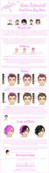 Asha's Hair Tutorial 4 - boys by Icecradle