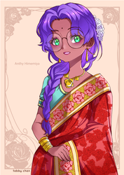 Anthy Indian Style by iamtabbychan