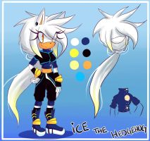 :AT: Redesign Ice the hedgehog by blazinghedgefox
