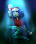Toothpaste Underwater by Timtams03