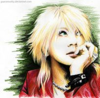 Ruki in thought by Gaaramunky