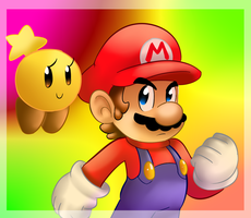 Mario and Starlow by raygirl12