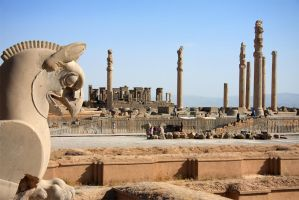 Ruins of Persepolis by Mehdis