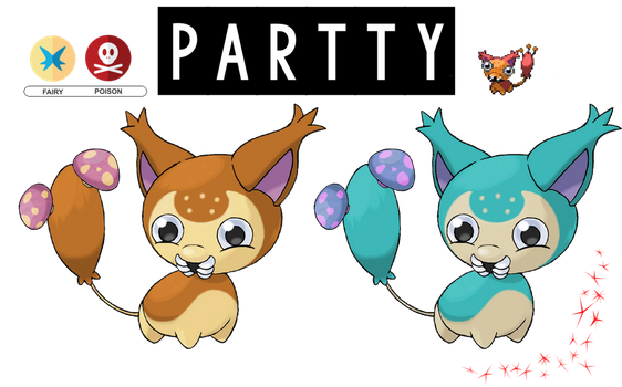 Pokemon Fusion Photoshop~Partty~ by Xbox-DS-Gameboy