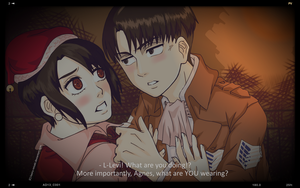 SnK Oneshot: Holiday Birthday (Levi x OC) by kaoru-reisaki on DeviantArt