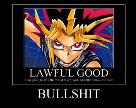 Yami Yugi Demotivational by Questern