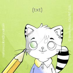 Colouring Book Preview - KITTY by yuki-the-vampire